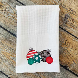 Sublimated Ornament Hand Towel