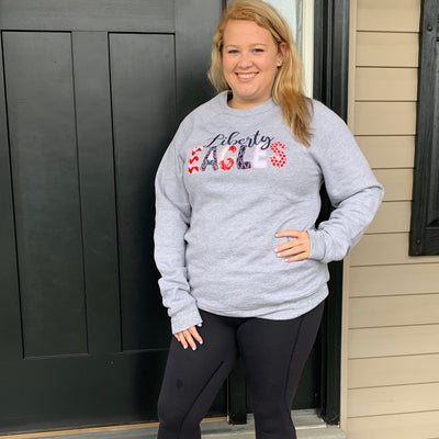 Personalized Applique Sweatshirt