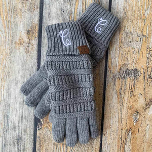 Personalized CC Beanie Gloves