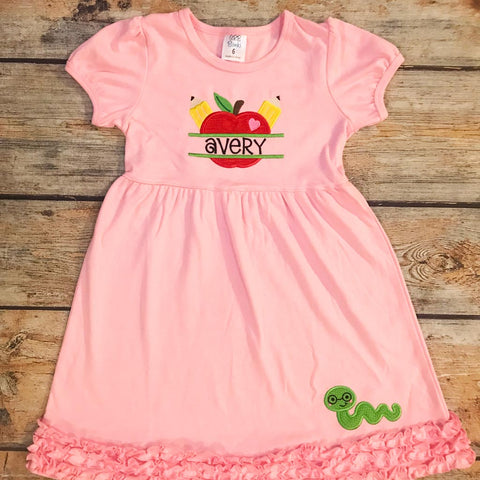 Apple School Design Dress