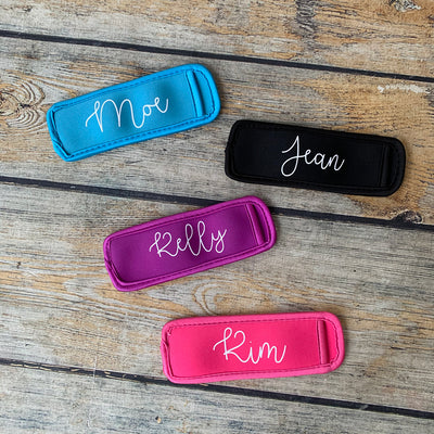 Personalized Popsicle Koozie