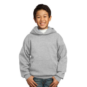 Personalized Youth Fleece Hoodie - Ash