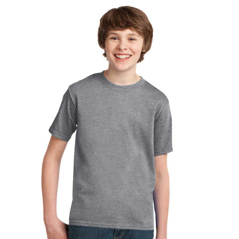 Personalized Youth Short Sleeve Tee - Athletic Heather