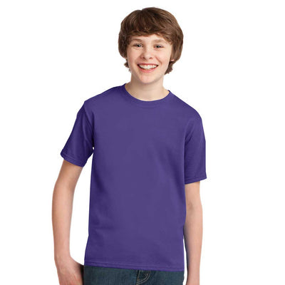 Personalized Youth Short Sleeve Tee - Purple