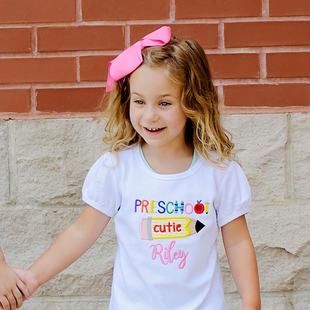 Preschool Cutie Design Tee