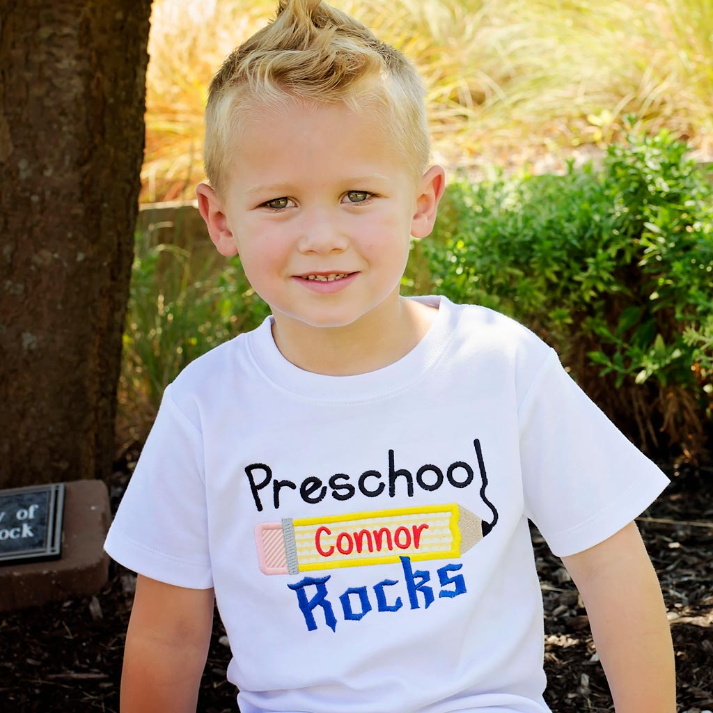 Preschool Rocks Design Tee