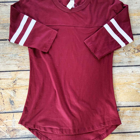 Personalized Women's Ralley Jersey - Maroon