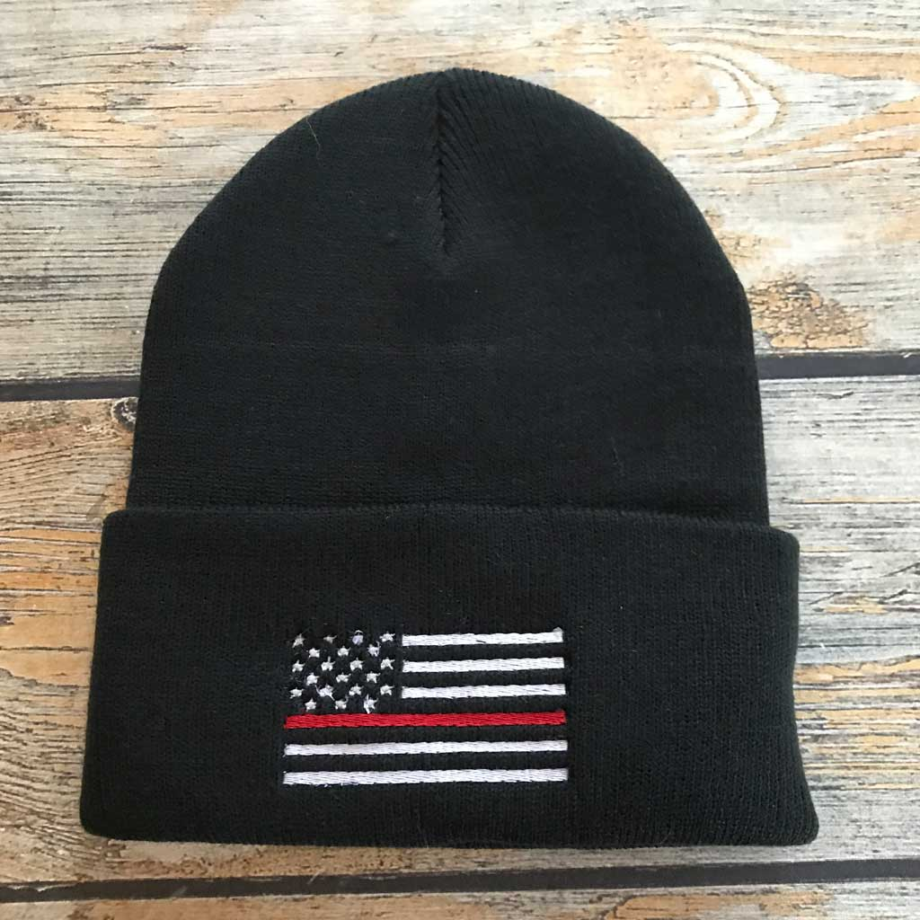 Thin Red Line Stocking Cap