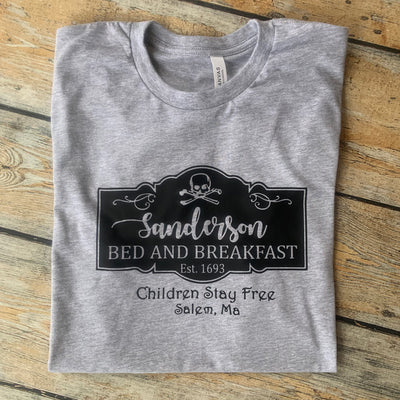 Sanderson B&B Halloween Tee Vinyl Design Shirt