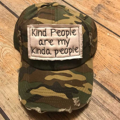 Kind People Camo Hat