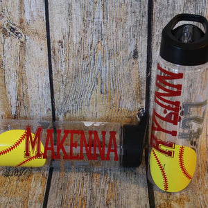 Softball Water Bottle