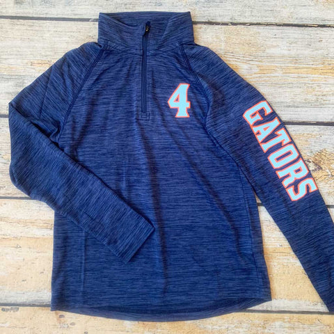Monogrammed Women's Lightweight 1/4 Zip Performance Pullover Sporty Style