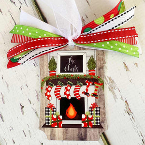 Metal Christmas Stockings Ornament
