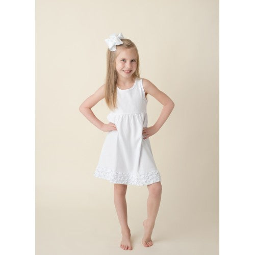 Tank Ruffle Bottom Dress