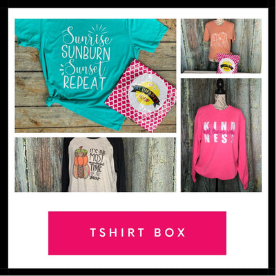 T-Shirt Monthly Subscription Box