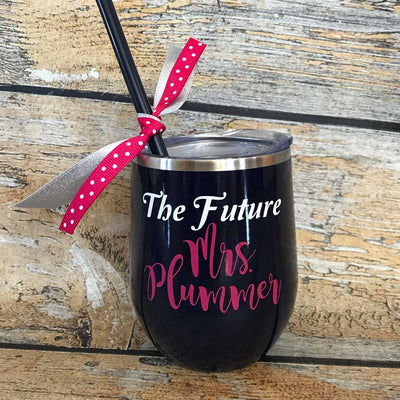 The Future Mrs. Wine Tumbler