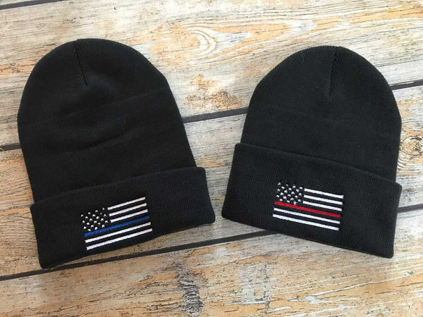 Thin Line Stocking Caps