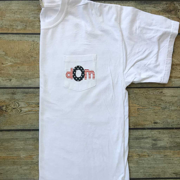 Pocket Tee in White