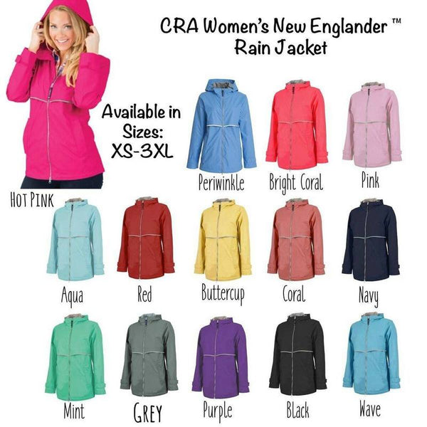 New Englander Jacket Colors