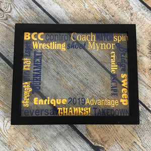 Coach Recognition Floating Frame