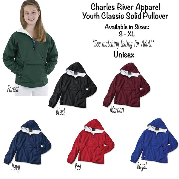 Youth Classic Lined Pullover Colors