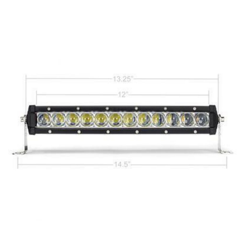"13"" Slim Single Row LED Bar CRSRL0001"