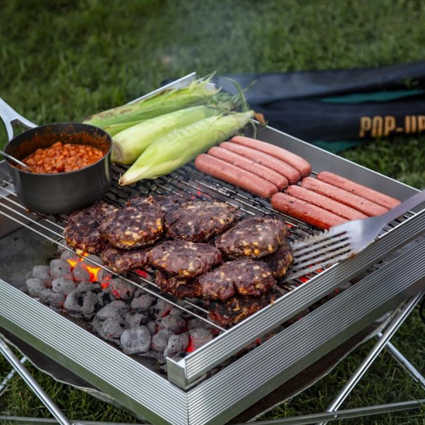 Pop-Up Pit Grill Grates