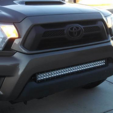 "Load image into Gallery viewer, 05-15 Toyota Tacoma 32"" Flush LED Bumper Light Bar Brackets (Pair) or Combo Option"
