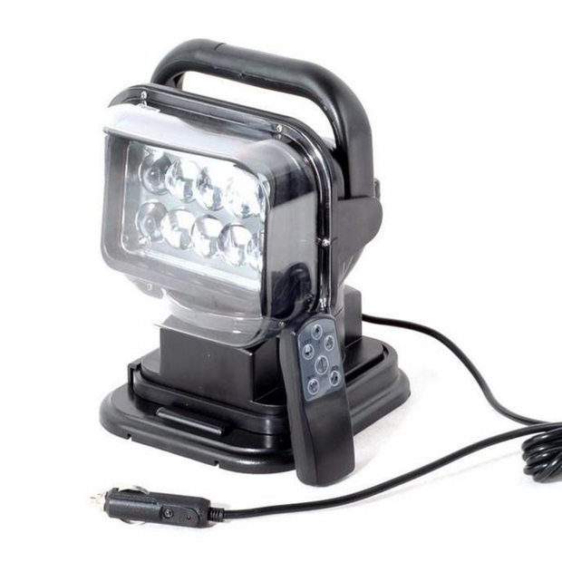 50W Magnetic Remote Controlled Searchlight - Cali Raised LED