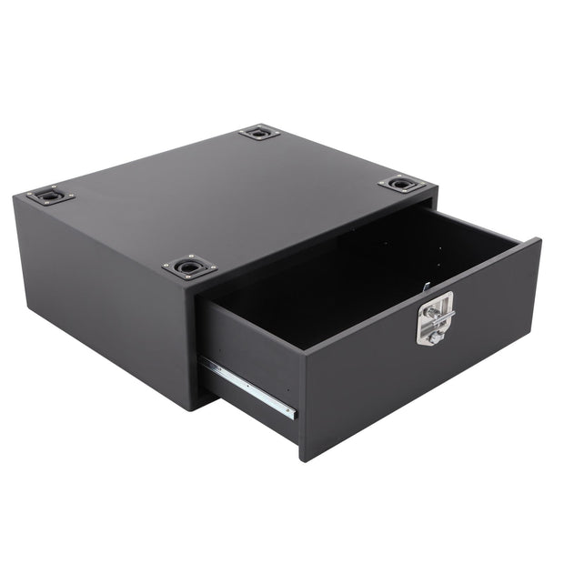 Security Storage Vault 07-18 Wrangler JK 2 And 4 DR Rear Lockable Storage Box Smittybilt - 2763
