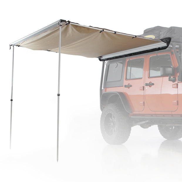 Overlander Awning 8.2ft. wide x 6.2ft. long Coyote Tan Smittybilt - 2784
