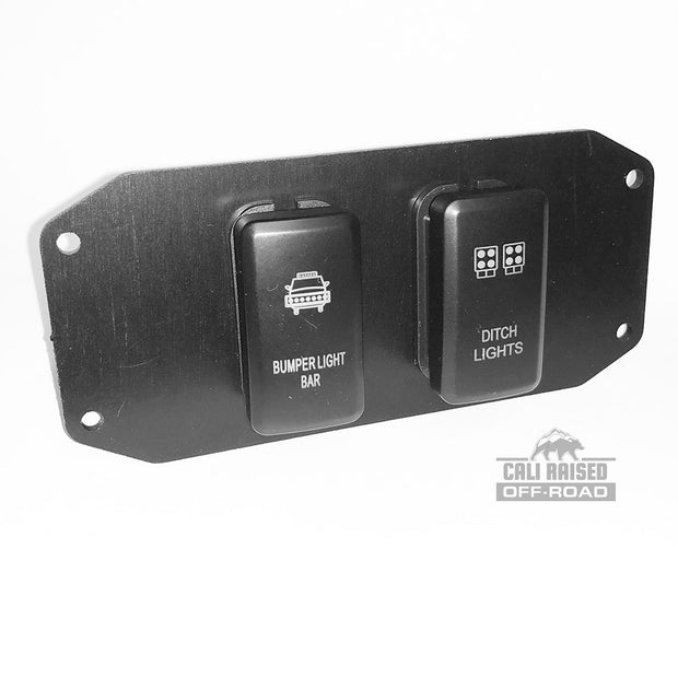 16-Present Toyota Tacoma OEM Style Switch Panel 2 slot CRTAC0006-2