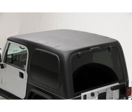 Hard Top 1 Piece W/Upper Doors 97-06 Wrangler TJ Textured Black Smittybilt - 519801
