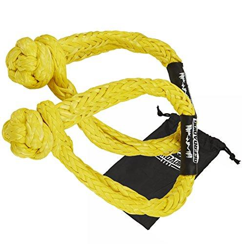 Synthetic Soft Rope Shackles w/Free Storage Bag - Cali Raised LED