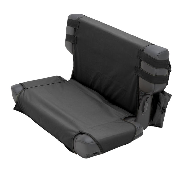 Gear Seat Cover 76-06 Wrangler CJ/YJ/TJ/LJ Rear Black Smittybilt - 5660201