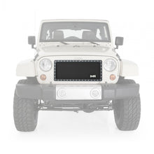 Load image into Gallery viewer, M1 S/S Wire Mesh Grille 07-18 Wrangler JK Black Smittybilt - 615850