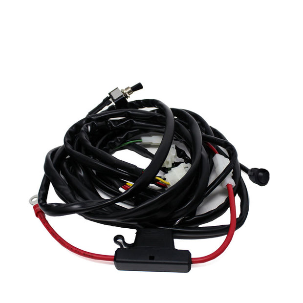 Baja Designs OnX6 Hybrid Laser/S8 Wire Harness w/Mode-1 Bar