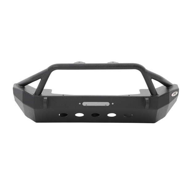 XRC Front Jeep JK Bumper w/ Stinger Winch Plate D-Rings 07-18 Jeep JK Wrangler Black Powdercoat Smittybilt - 76806