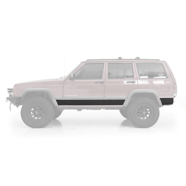 XRC Body Cladding 84-01 Cherokee XJ 2 DR Black Textured Smittybilt - 76854