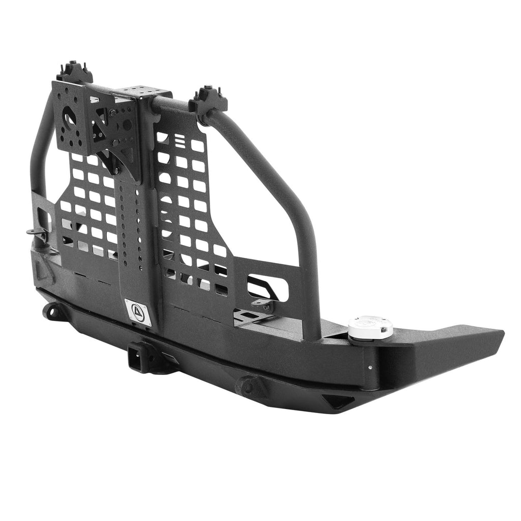 XRC Atlas Rear Bumper with Tire Carrier 07-18 Wrangler JK Smittybilt - 76896