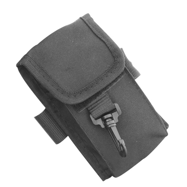 Jeep Personal Device Holder 6.5 x 4 Inch Black Polyester Smittybilt - 769560