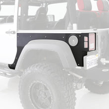 Load image into Gallery viewer, XRC Flat Armor Skins Front 07-18 Wrangler JK 2 DR Black Textured Smittybilt - 76981