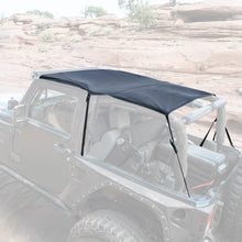 Load image into Gallery viewer, Extended Soft Top 07-09 Wrangler JK 2 DR Black Diamond Smittybilt - 94135