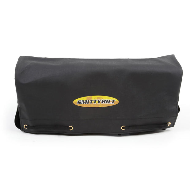 Winch Cover 8K and Higher Winches Smittybilt Logo Black - 97281-98