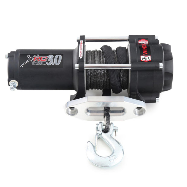 XRC 3 Comp 3,000 Lb Winch Comp Series W/Synthetic Rope & Aluminum Fairlead Smittybilt - 98203