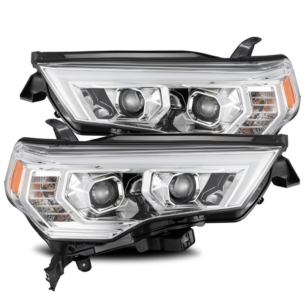 14-Present Toyota 4Runner PRO-Series Projector Headlights - Chrome