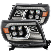 05-11 Toyota Tacoma NOVA-Series LED Projector Headlights Black-880742
