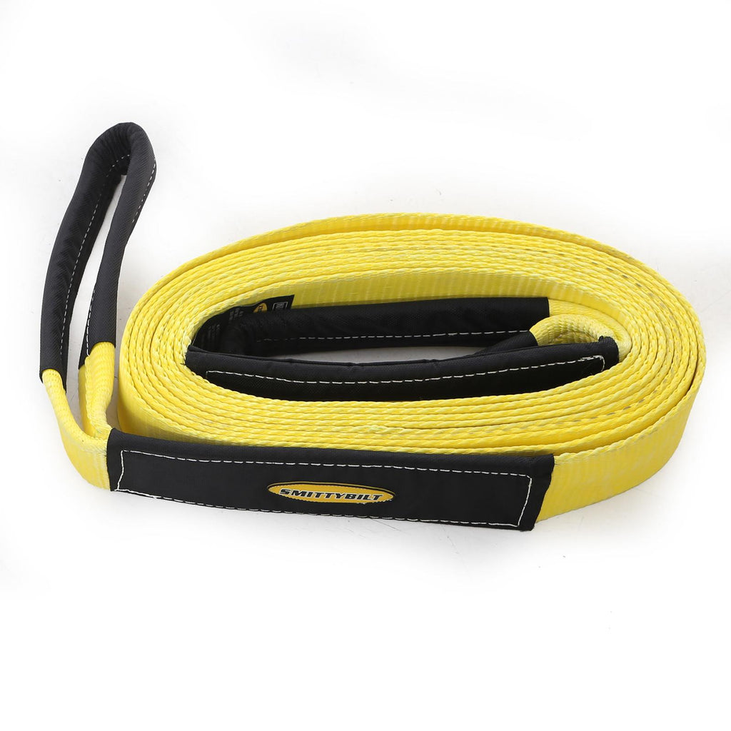 Tow Strap 2 Inch X 20 Foot 20,000 Lb Rating Smittybilt - CC220