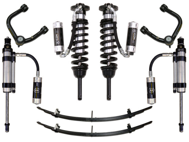 "05-15 TACOMA 0-3.5""/ 16-UP 0-2.75"" STAGE 7 SUSPENSION SYSTEM W TUBULAR UCA - K53007T"