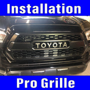 Pro Grille Installation Tacoma includes labor prep and clean up.